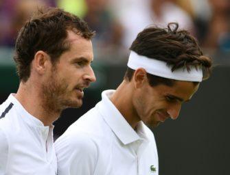 Wimbledon: Murray im Doppel ausgeschieden