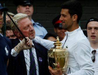 Becker fordert mehr Anerkennung für Djokovic