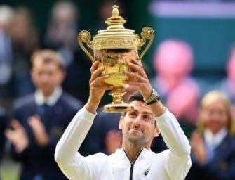 Wimbledonsieger Djokovic für ATP-Saisonfinale qualifiziert