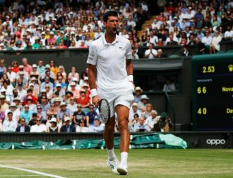 Wimbledon: Djokovic zieht mühelos ins Halbfinale ein