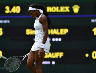 Halep beendet Gauffs Wimbledon-Märchen im Achtelfinale
