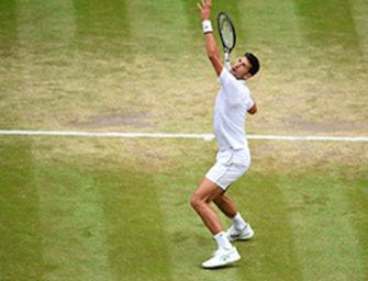 Novak Djokovic schreibt Wimbledon-Geschichte