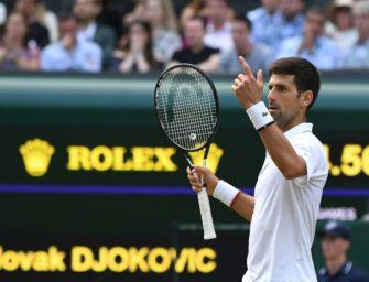 Djokovic gewinnt erneut in Wimbledon