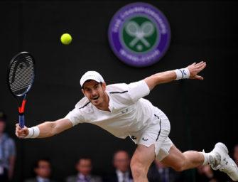 Hält die Hüfte von Andy Murray den Strapazen stand?