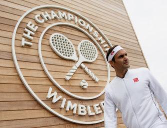 Als eine Lehrstunde für Roger Federer bei McDonalds endete