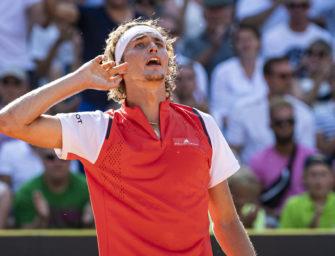 Comeback-Sieg: Zverev in Hamburg im Halbfinale