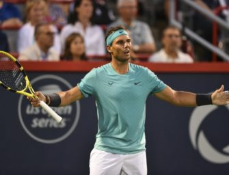 Nadal im Montreal-Finale gegen Russen Medwedew