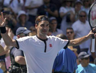 Federer spaziert ins Achtelfinale der US Open