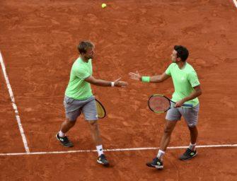 French-Open-Sieger Krawietz/Mies mit Auftakterfolg in New York