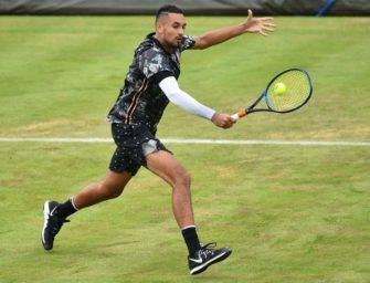 ATP ermittelt gegen Kyrgios nach jüngster Verbalattacke