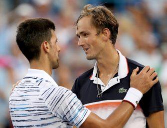 Cincinnati: Djokovic im Halbfinale an Medwedew gescheitert