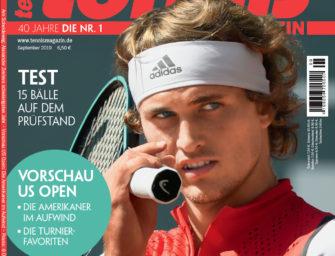 Tennis Magazin 9/2019: Am Scheideweg – Zverevs schwierigstes Jahr