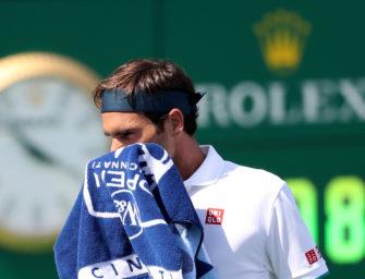 Federer verliert in Cincinnati: Schnellste Niederlage seit 2003