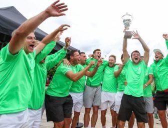 Grün-Weiss Mannheim: zum achten Mal Deutscher Meister