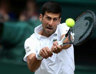 """Dreimal so viele Kilo wie jetzt"": Djokovic beim Sumo chancenlos"