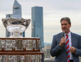 Haggerty bleibt vier weitere Jahre ITF-Präsident
