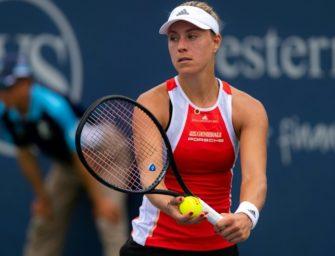 Tennis-Weltrangliste: Kerber klettert um drei Plätze