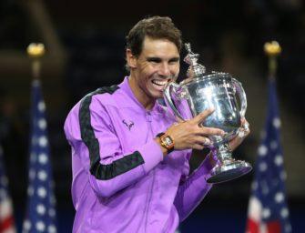 Rafael Nadal gewinnt zum vierten Mal die US Open