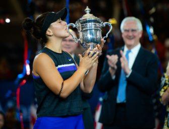 Großer Empfang für US-Open-Siegerin Andreescu