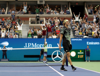 Alexander Zverev nach US Open:  Glas halb voll