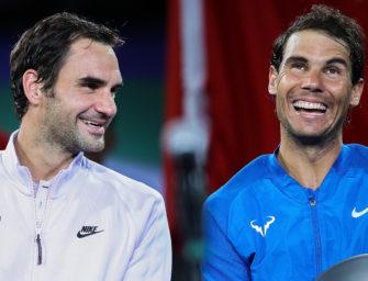 Im Stadion von Madrid: Federer gegen Nadal vor 80.000 Fans