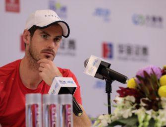 """Andy Murray: """"Meine Bestleistung werde ich nicht erreichen"""""""