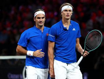 Statt Davis Cup: Zverev mit Federer auf Südamerika-Tour