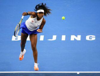 Osaka löst Ticket für das WTA-Saisonfinale