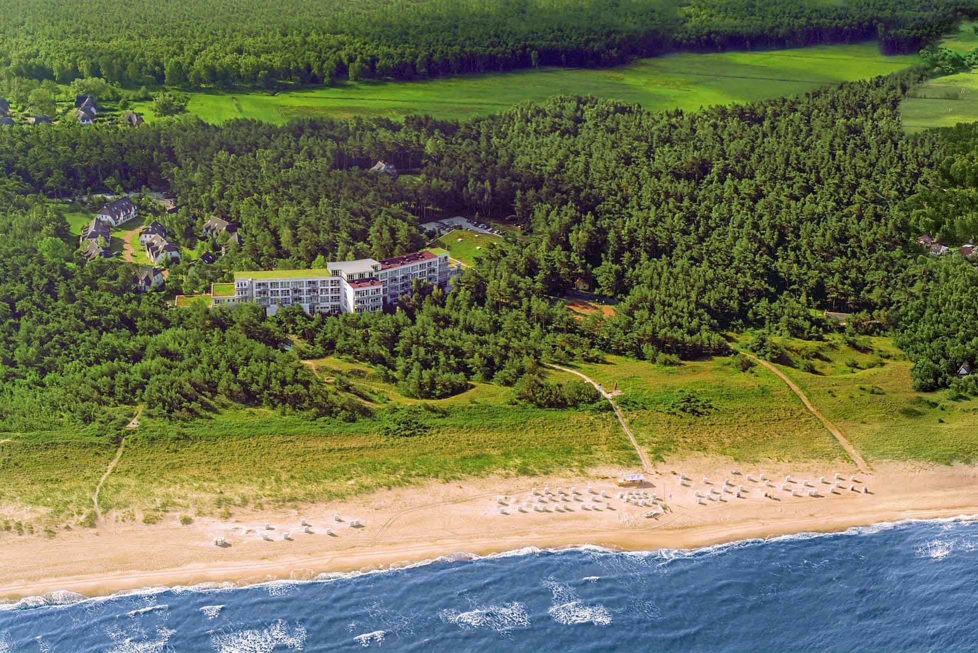 Exklusive Urlaubswelt im Strandhotel Fischland