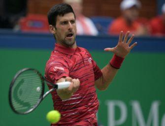 Shanghai: Titelverteidiger Djokovic scheitert im Viertelfinale an Tsitsipas