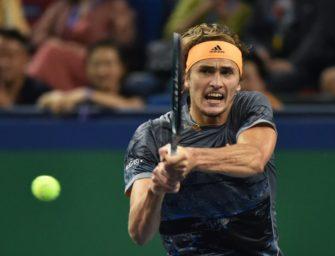 Sieg gegen Federer: Zverev im Halbfinale von Shanghai