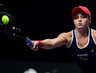 French-Open-Siegerin Barty im Halbfinale von Shenzhen