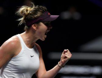 WTA-Saisonfinale: Switolina und Halep siegen zum Auftakt