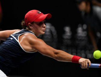 WTA-Saisonfinale: Barty und Osaka gewinnen Auftaktmatches