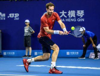 Comebacker Murray bezwingt US-Open-Halbfinalist