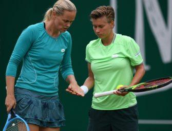 WTA-Finals: Grönefeld darf trotz Niederlage auf Halbfinale hoffen