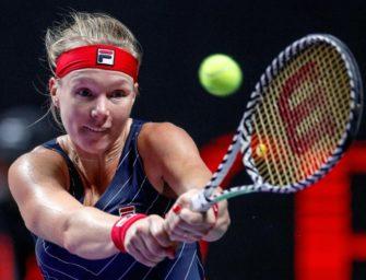 WTA-Saisonfinale: Bertens und Bencic wahren Halbfinal-Chance