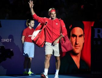 1500. Spiel auf der Tour: Federer bezwingt zum Jubiläum Gojowczyk