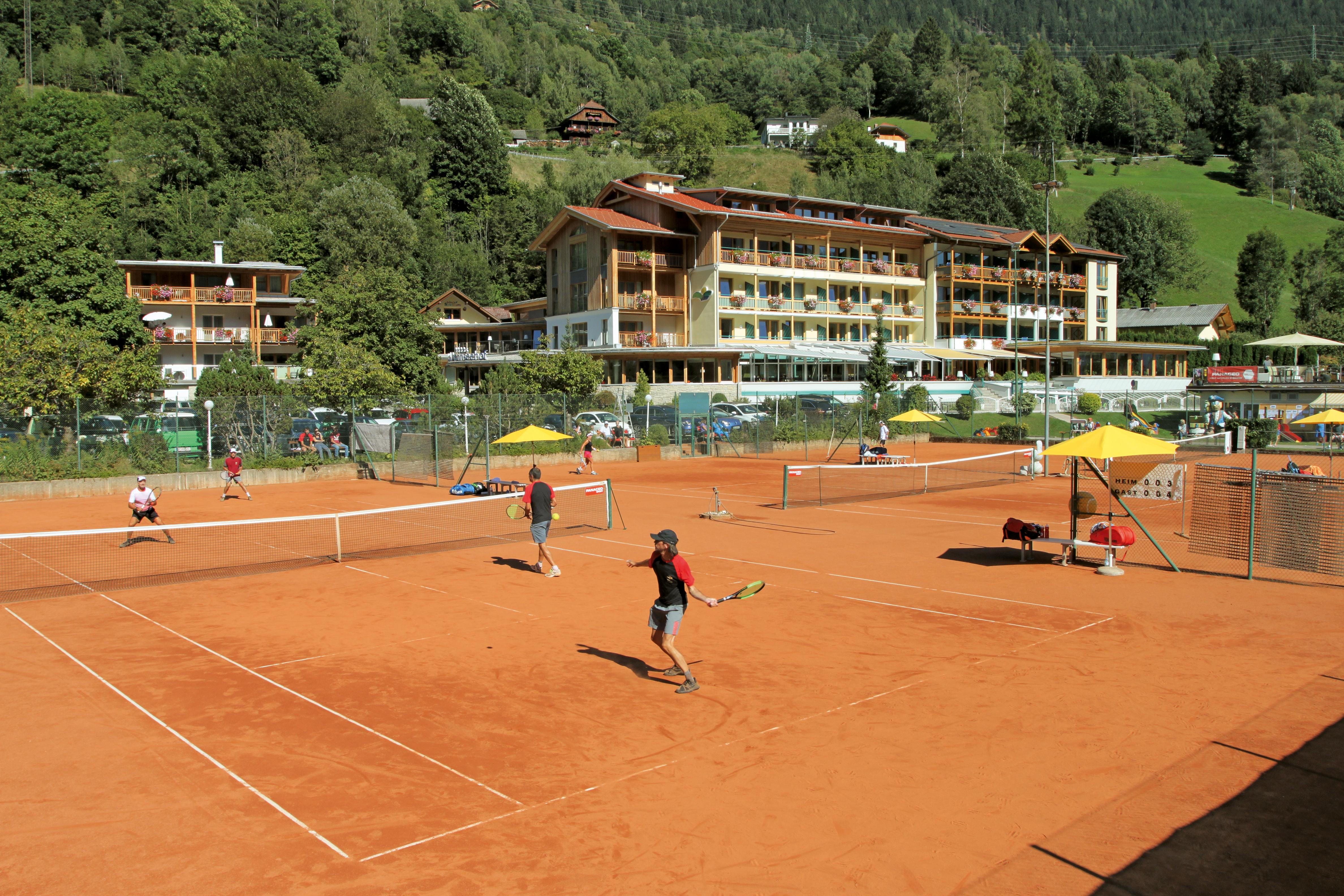 4-Sterne Tennishotel am Kärntner See
