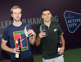 Van de Zandschulp gewinnt Tennis Challenger Hamburg