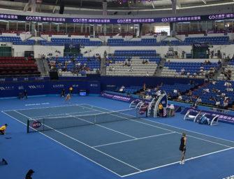 WTA Elite Trophy: Gähnende Leere in Zhuhai