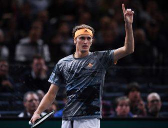Zum dritten Mal bei den ATP-Finals: Zverev fährt nach London