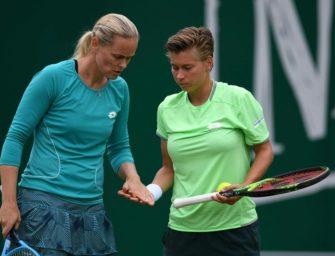 WTA-Finals: Grönefeld mit Schuurs im Doppel-Halbfinale