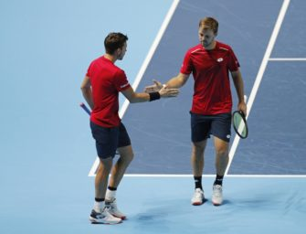 ATP-Finals: Krawietz und Mies mit knappem Sieg zum Auftakt