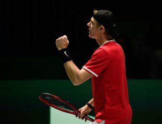 Davis Cup: Kanada als erstes Team im Viertelfinale
