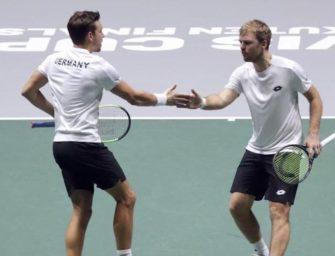 """Davis Cup: Das historische Debüt von """"Kramies"""""""