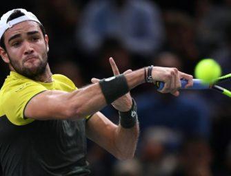 Monfils verliert: Berrettini fürs ATP-Finale qualifiziert