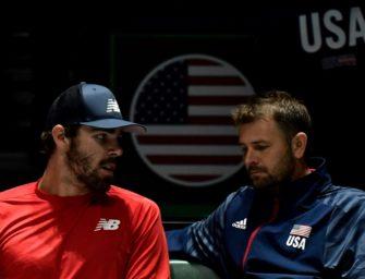 """Nachtschichten beim Davis Cup: """"Weiß gar nicht mehr, welcher Tag ist"""""""