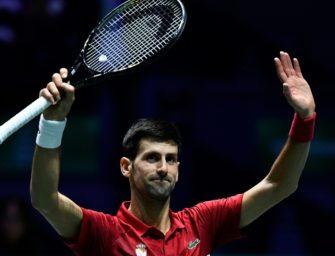 Davis Cup: Djokovic führt Serbien ins Viertelfinale