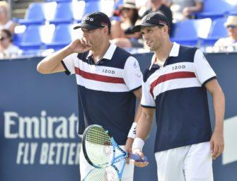 Bei den US Open 2020 ist Schluss: Bryan-Brüder hören auf